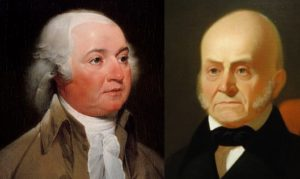 The original wonder twins, John Adams and John Quincy Adams