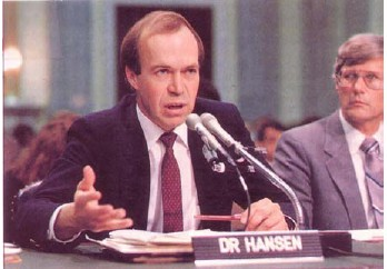 James Hansen reluctantly enters the fray